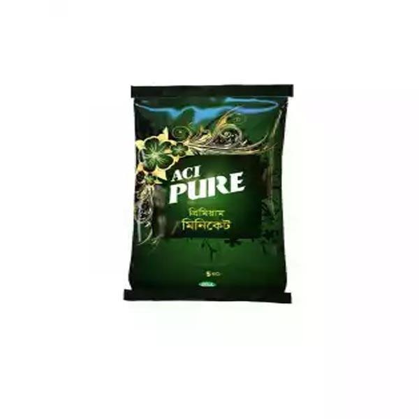 ACI Pure Miniket Rice এ সি আই পিওর মিনিকেট চাল ৫ কেজি