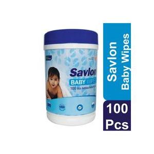 Savlon Baby wipe 100s (সাভ্লন বেবি উইপ্স (এনটিব্যাকটেরিইয়াল) 100 টি