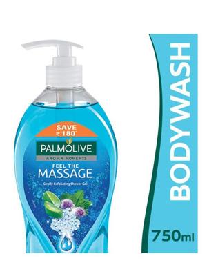 Shop Palmolive Feel the Massage Shower Gel 750 ml  (পামোলিভ কেনাকাটা করুন ম্যাসেজ শাওয়ার জেল 750 মিলি অনুভব করুন)